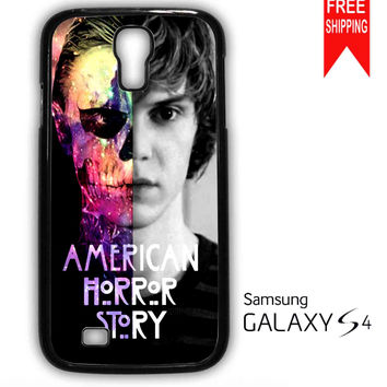 American Horror Story Tate Langdon Evan Peter Samsung Galaxy S4 Case