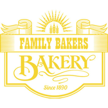 Family Bakery Sign (Yellow) Plastisol Heat Transfer