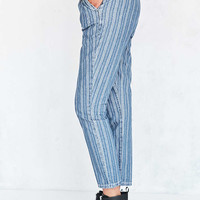 BDG Striped High-Rise Trouser Jean - Urban Outfitters