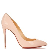 Pigalle Follies 100mm patent-leather pumps | Christian Louboutin | MATCHESFASHION.COM US