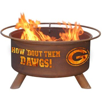 Georgia Steel Fire Pit by Patina Products