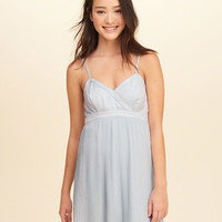 Girls Pleated Babydoll Dress | Girls Dresses & Rompers | HollisterCo.com