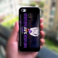 ipod 4 case,ipod 5 case,Never Say never,justin bieber,iphone 4 case,iphone 4S case,iphone 5 case,iphone 5S case,iphone 5C case