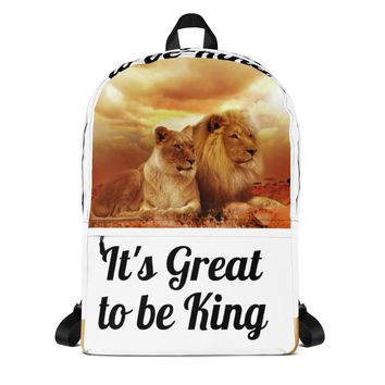 It's great to be King Backpack