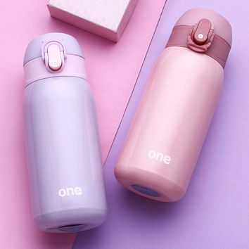 320ml Colorful Thermo Mug Vacuum Cup 304 Stainless Steel thermos Bottle baby Thermal Bottle for water Insulated Child Thermo Cup