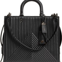 COACH 1941 Rogue Rivets Quilted Leather Satchel | Nordstrom