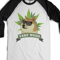 White/Black T-Shirt | Funny Weed Shirts