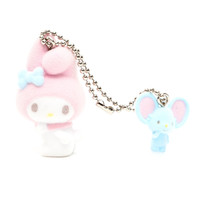 My Melody Flocked Keychain