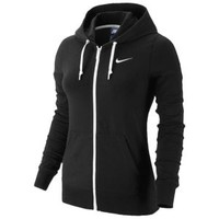 Nike Full Zip Jersey Hoodie - Women's at Lady Foot Locker