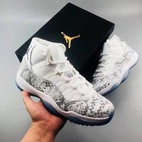 Air Jordan 11 Snake Men Basketball Shoes