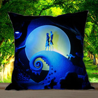 Nightmare, Before Christmas Jack skellington and Sally for Pillowcases