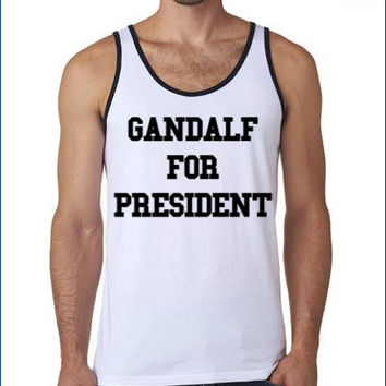 Gandalf Shirt | LOTR Tanktop | Lord of the rings apparel