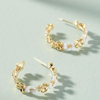 Maui Lattice Mini Hoop Earrings