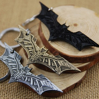 The Latest Fashion Beautiful Movie Batman Keychain Model Alloy Key Buckle The Avengers Key Rings