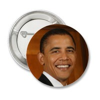 Barack Obama Pinback Buttons from Zazzle.com