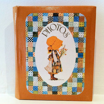 Vintage Holly Hobbie Photo Album Kitsch Retro