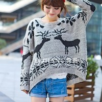 Fawn sweater pullover sweater GB13030 from Eternal