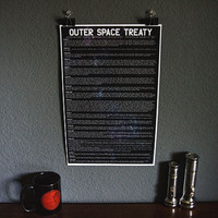 Outer Space Treaty Poster