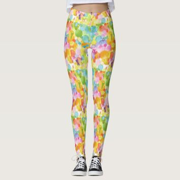 Colorful Abstract Art Women's Leggings