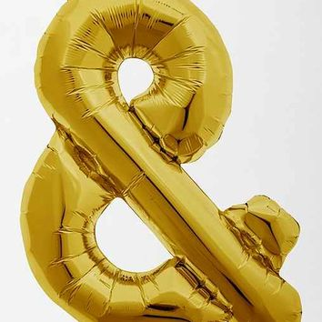 Gold Symbol Party Balloon