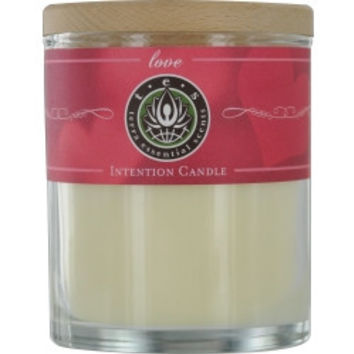 Estelle Vendome LOVE MASSAGE & INTENTION SOY CANDLE 12 OZ TUMBLER. JASMINE, SANDALWOOD, LAVENDER, YLANG YLANG, VANILLA WITH SUNSTONE GEMSTONE . BURNS APPROX. 30+ HOURS    (U) UNISEX