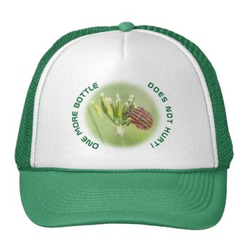 Red Bug - One More Bottle Does Not Hurt Trucker Hat