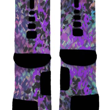 Majestic Feathers Custom Nike Elite Socks