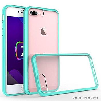 Apple iPhone 8 Plus Case, Easy Grip Slim Armor Bumper Case for iPhone 8 Plus  - Teal