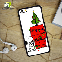Merry Christmas Snoopy iPhone 6 Case by Avallen