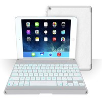 ZAGG Folio Case with Backlit Bluetooth Keyboard  for iPad Air-White