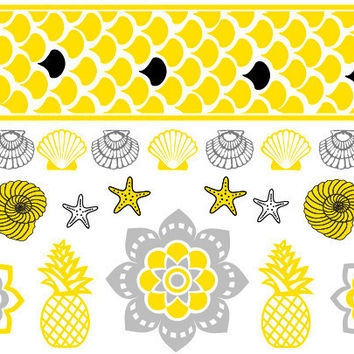 Bali Candy Temporary Jewelry Tattoos IV (includes 4 sheets with 4 styles)