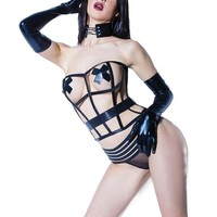 Darque By Coquette Caged Corset
