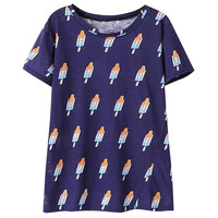 Popsicle Print Loose T-Shirt