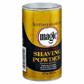 MAGIC SHAVE® POWDER SHAVE- fragrant 4.5 OZ