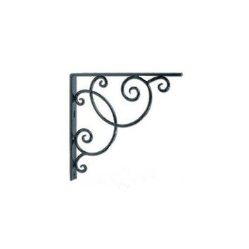 2pcs Wall Mounted Floral Style Shelf Brackets for Bookrack / Calpboard / Set Top Box