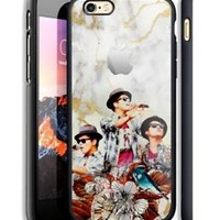 Bruno Mars Apple Logo Marble Hard Case For iPhone 6 6+ 6s 6s+ 7 7+ 8 8+ X Cover