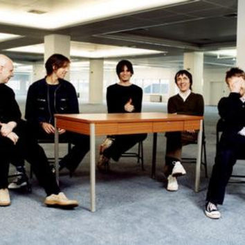 Radiohead Poster Group Desk 24inx36in