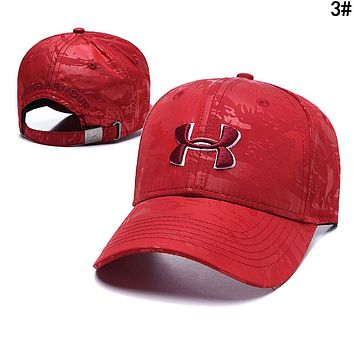 Under Armour Women Men Embroidery Sports Sun Hat Baseball Cap Hat 3#