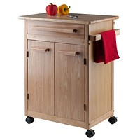 Kitchen Cart with One Drawer, cabinet
