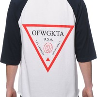 Odd Future Triangle Baseball T-Shirt