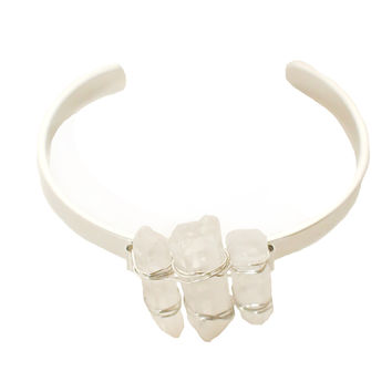 The Crystal Stone Cuff-FINAL SALE