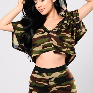 Selina Top - Army