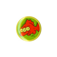 The Simpsons Blinky Pin