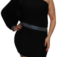 Two Words (Plus)-Great Glam is the web's top plus size online store clothing website for 1X 2X and 3X clothes and apparel for ladies, women and juniors