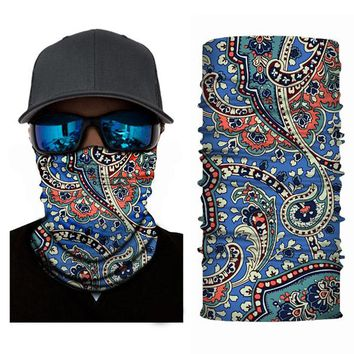 ADK Male Mouth Mask With Ethnic Customs Sports Neck Warmer Magic Outdoor Micro Fiber Visor Scarf For Men
