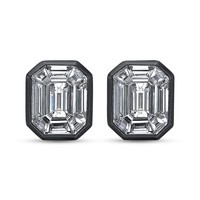 Illusion Diamond Small Stud Earrings