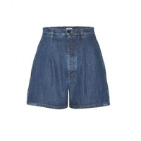 miu miu - denim shorts