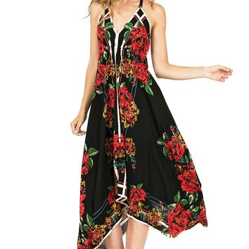 Lovestruck Floral Midi Dress