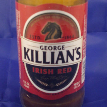 Killians Beer Bottle 100% Soy Candle - Beer Scented