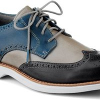 Sperry Top-Sider Gold Cup Bellingham ASV Wingtip Oxford DarkGray/BlueLeather, Size 8M  Men's Shoes